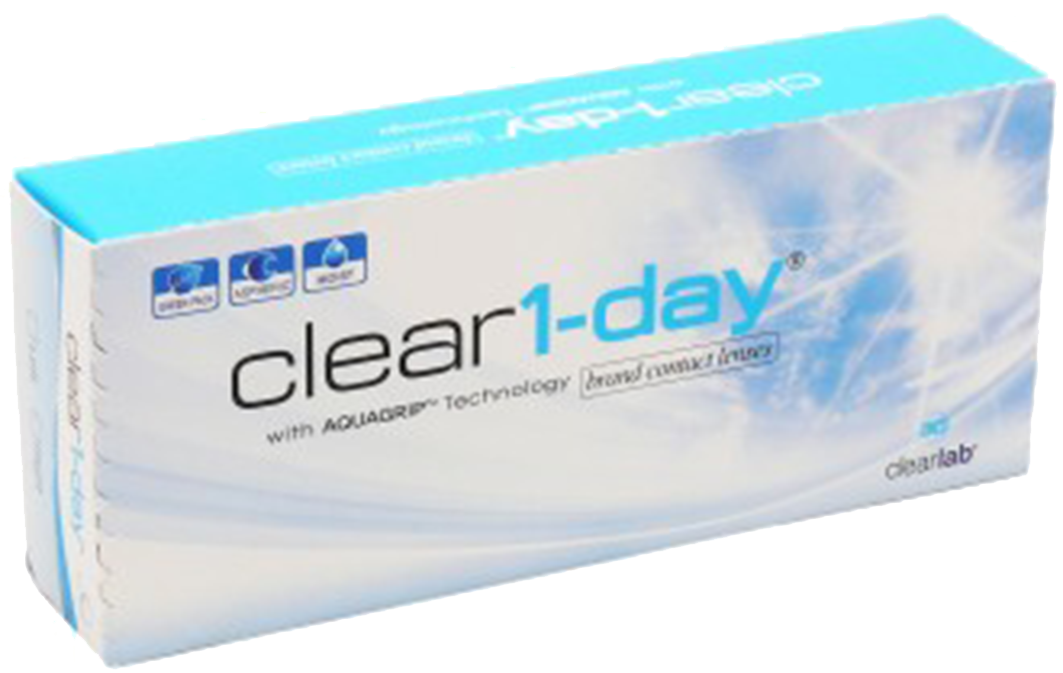 Clear 1 - Day (30 čoček)