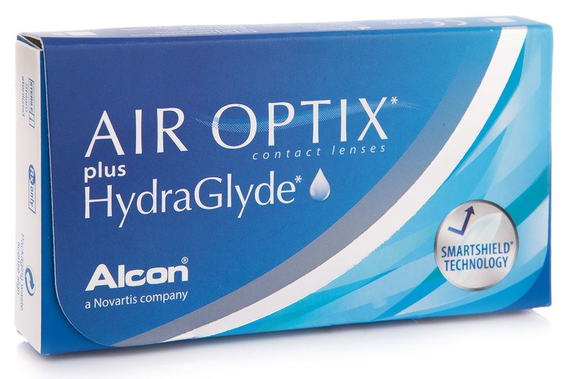 Alcon Air Optix Hydraglyde (3 čočky) Alcon