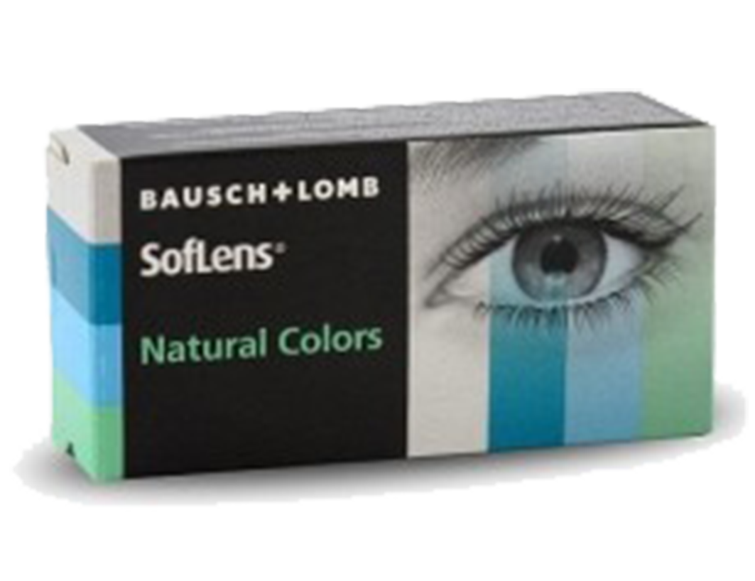 Soflens Natural Colors (2 ks) - nedioptrické
