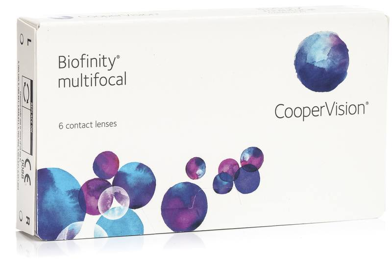 Cooper Vision Biofinity Multifocal - 3 kusy v balení