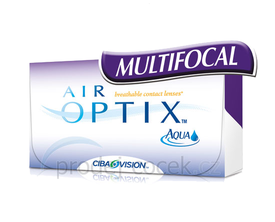 Alcon Air Optix Aqua Multifocal (6 čoček) Ciba Vision