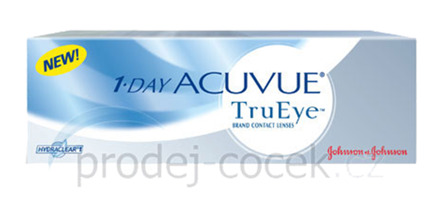 Johnson & Johnson 1-Day Acuvue TruEye (30 čoček)