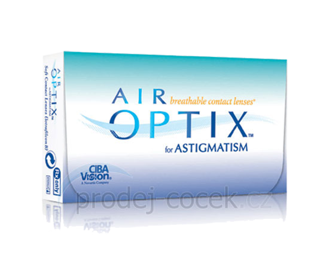 Alcon Air Optix - Astigmatism (6 čoček) Alcon