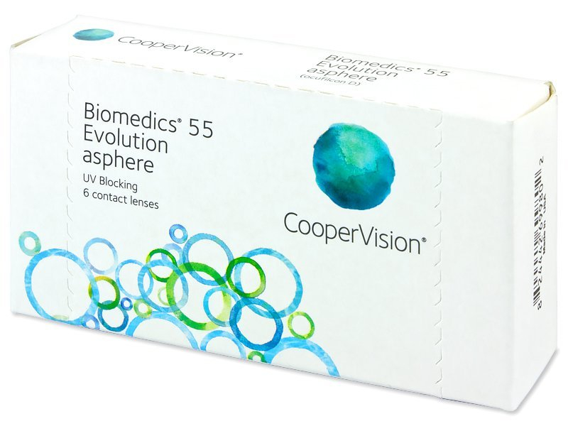 Biomedics 55 Evolution (6 čoček)