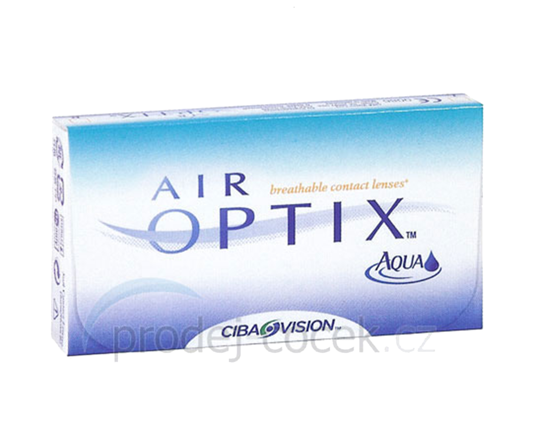 Alcon Air Optix Aqua (6 čoček) Alcon