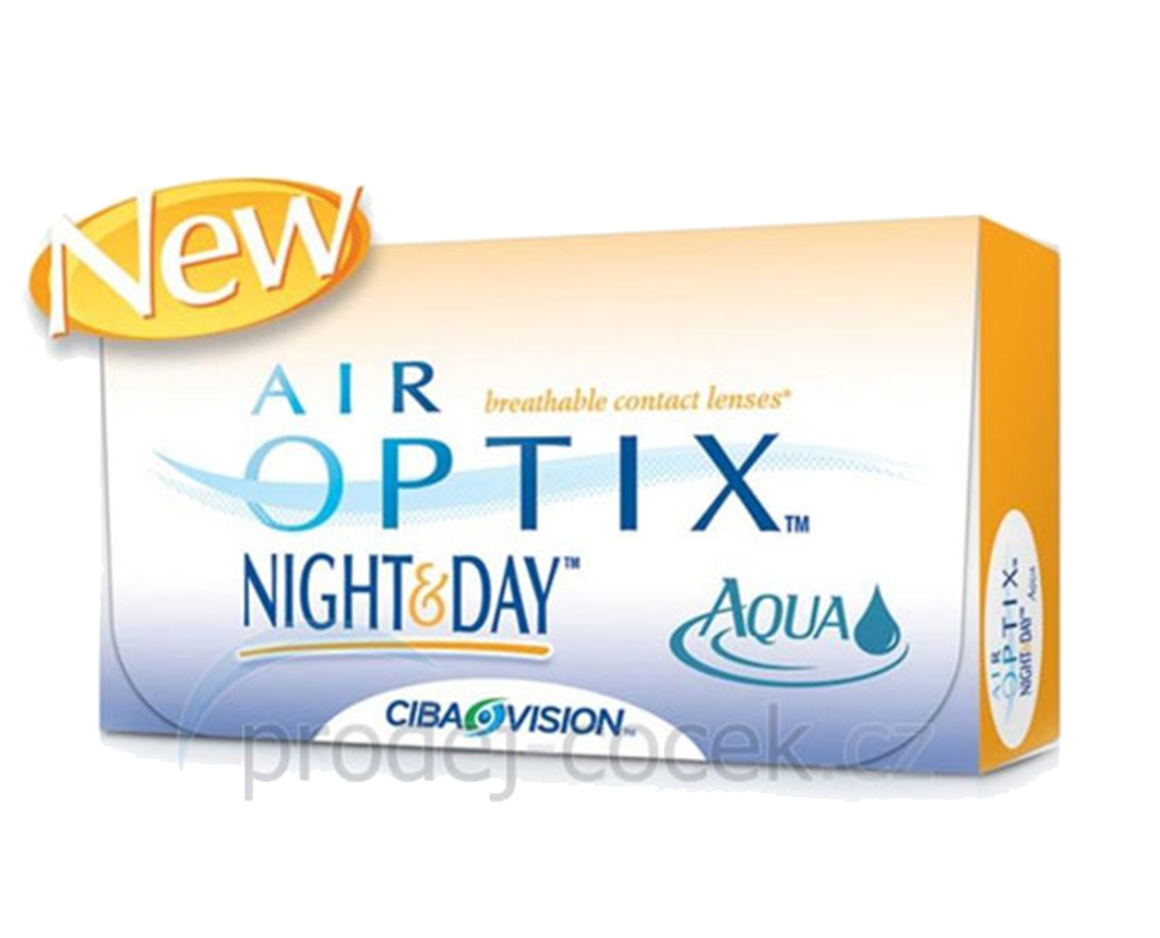 Vision Air Optix Night & Day Aqua (6 čoček) Alcon