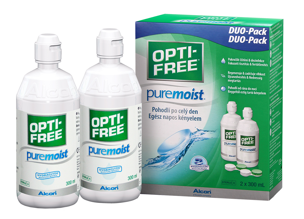 Alcon OPTI-FREE PureMoist 2 x 300 ml