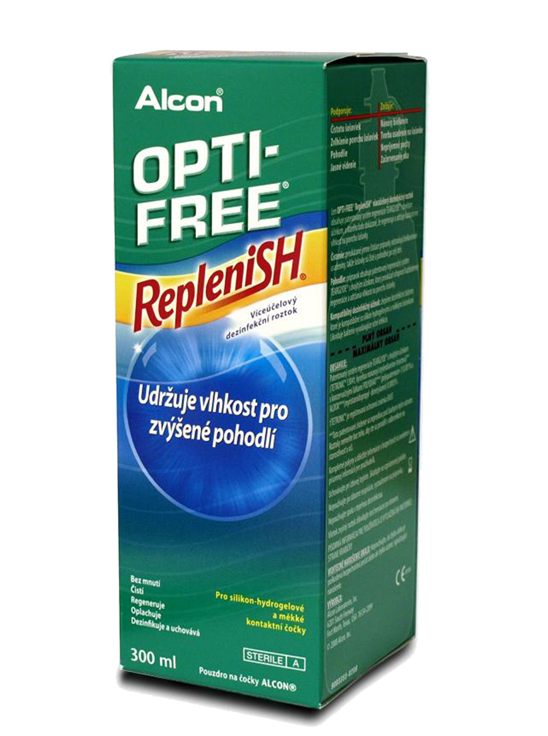Alcon Opti-Free RepleniSH (300 ml) - s pouzdrem