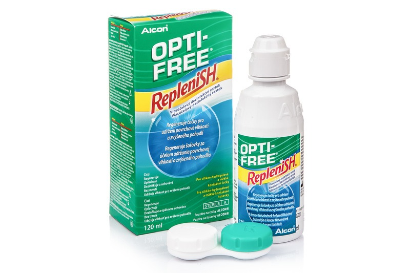 Opti-Free RepleniSH (120 ml)