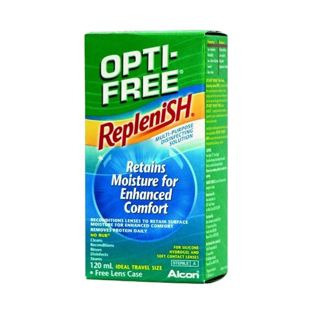 Alcon Opti-Free RepleniSH (120 ml) - s pouzdrem
